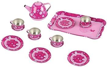 FAO Schwarz Tin Tea Set