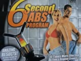 6 SECOND ABS ABDOMINAL STOMACH CRUNCH EXERCISE WITH DVD & GUIDE NEW
