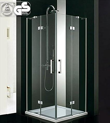 Cabina de ducha rectangular con puerta corredera 90cm - Cabina ducha rectangular ...