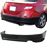 06-08 Honda Civic 2DR Coupe OE Performance Add-On Poly-Urethane Rear Bumper Lip Spoiler Bodykit