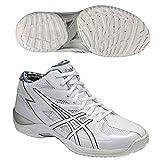 asics(アシックス) バスケットボール シューズ GELHOOP V6 WC-wide ホワイト/シルバー/ネイビー TBF316 0151 29.5cm