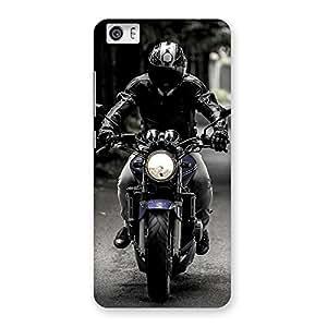 Premium Bike Rider Multicolor Back Case Cover for Xiaomi Redmi Mi5