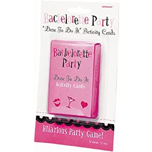 Party America Bachelorette Party Truth or Dare Cards