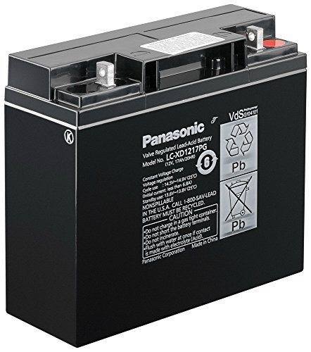 Panasonic - 12 v/17 ah : panasonic lC-xD1217P 181 mm