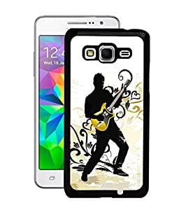 Fuson 2D Printed Music Wallpaper Designer Back Case Cover for Samsung Galaxy Grand Prime - D661