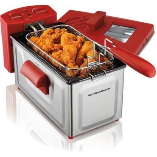 New-2 Liter Deep Fryer Stainless Steel Electric Basket Cooker Kitchen Countertop (Mickey Mouse Musical Toaster compare prices)