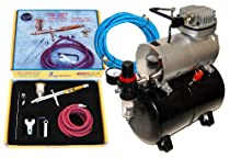 Hot Sale Paasche TG-SET Talon Airbrushing System with the Master TC-20T Air Compressor With Tank