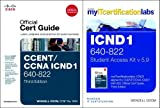 Wendell Odom CCENT/CCNA ICND1 640-802 Official Cert Guide with MyITCertificationLab Bundle V5.9