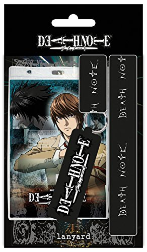 Portachiavi Death Note Lanyard with Rubber Keychain GYE