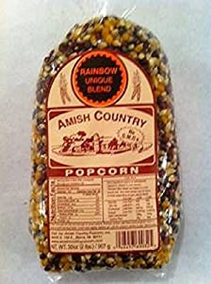 Amish Country Popcorn Rainbow 2 Lb Bag