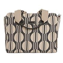 Hot Sale OiOi Tote Diaper Bag - Dot/Stripe Sand