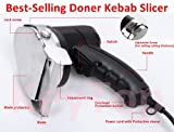 110v/60hz Professional and Commercial Electric Shawarma Knife, Gyro Knife, Doner Kebab Slicer --- 2 Blades Included