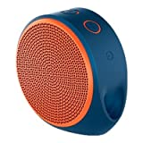 #3: Logitech X100 Wireless Bluetooth Spekers (Blue/Orange)