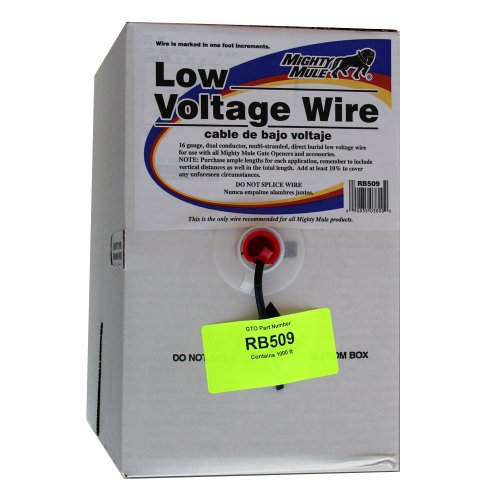 Mighty Mule Rb509 Low Voltage Wire, 1000-Foot Roll