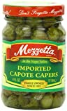 Mezzetta Capote Capers, 4-Ounce Jar (Pack of 12)