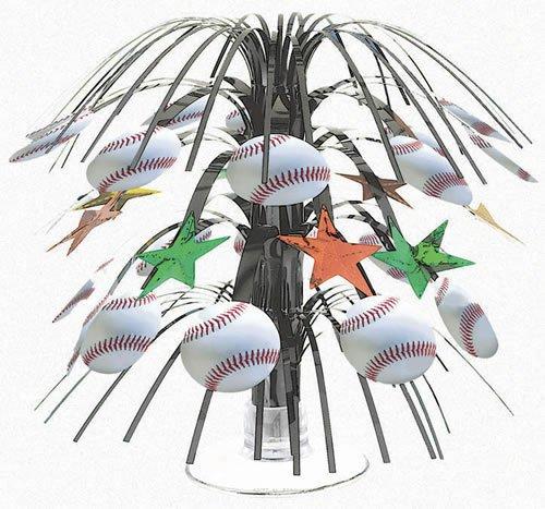 Championship Baseball Mini Cascade Centerpiece