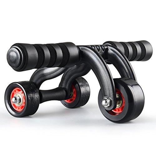 NuoYo Addominali Ab Roller Addominali per la Pancia Efficace Allenamento Addominale, Attrezzature Portatili Esercizio Addominale e Muscolo Core Esercizio Fitness.