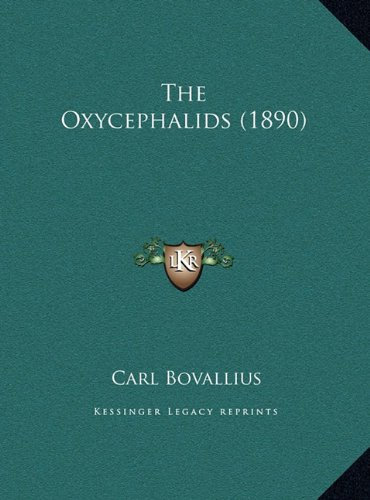 The Oxycephalids (1890)