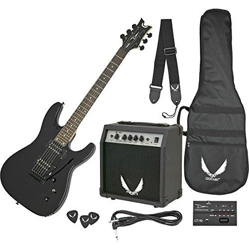 Dean Vendetta XMT Electric Guitar with Tremolo - Metallic Black (Black Dean Guitar compare prices)