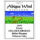 2013 Abiqua Wind Vineyard Chloe's Breeze Müller-Thurgau Willamette Valley Estate 750 ml