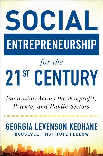 Social Entrepreneurship for the 21st Century: