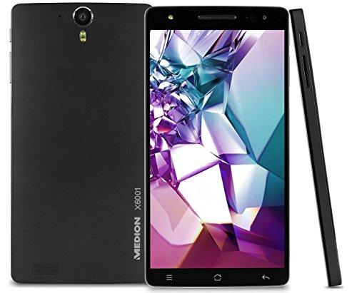 "MEDION LIFE SMARTPHONE X6001, 6"" display, 13MP camera, Android 5.1 Lollipop, Dual Sim"