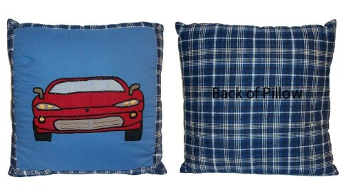 Pem America Cars Pillow - Blue