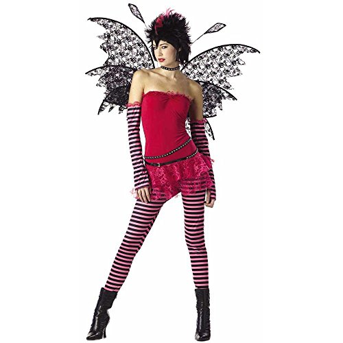 Girl's Teen Hot Rockin' Fairy Costume (Teen 3-5)