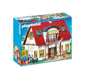 Playmobil familia casa moderna 4279 for Casa moderna 123 playmobil
