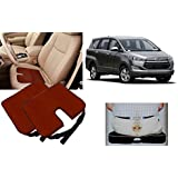 Auto Pearl - Premium Quality Car Seat Rest Cushion Cola Set Of 2Pcs For - Toyota Innova Crysta 2016