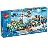 レゴ シティ レスキューパトロールシップとヘリ 60014
