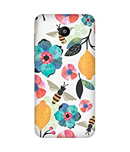 Watercolour Honey Bee Back Cover Case for Meizu M2