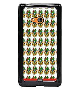 PrintDhaba Pattern D-1542 Back Case Cover for MICROSOFT LUMIA 540 (Multi-Coloured)