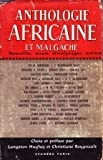 Anthologie Africaine et Malgache