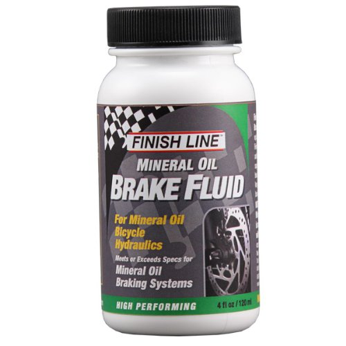 Finish Line High Performance Mineral Oil Brake Fluid, 4-Ounce image