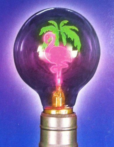 PINK FLAMINGO LIGHT BULB (Hot Pink Lightbulbs compare prices)