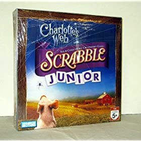 Scrabble Jr. Charlotte's Web