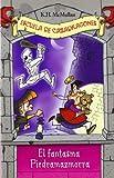 img - for El fantasma de Piedramazmorra/ The Ghost of Sir Gerbert Dungeonstone (Escuela De Cazadragones/ Dragon Slayers' Academy) (Spanish Edition) by McMullan, K. H., Basso, Bill (2007) Paperback book / textbook / text book