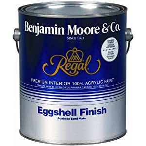 Benjamin Moore Regal Eggshell Finish- Gallon