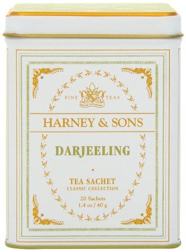 Harney & Sons Classic Darjeeling Tea, 20 Tea Sachets