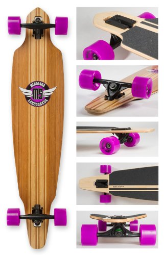Mindless Maverick Drop Through Longboard - ML4200 Natural