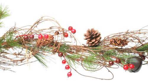 Tag Woodland Berry And Bell Garland - Christmas Wreaths