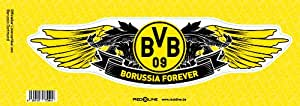 gro er 30x7 5cm auto aufkleber bvb 09 borussia dortmund k che haushalt. Black Bedroom Furniture Sets. Home Design Ideas
