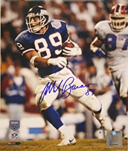New York Giants Mark Bavaro Autographed 8x10 Photo From Super Bowl XXV by Legends Gallery