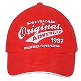 Honeybadger Red Baseball Cap