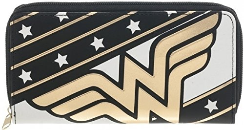 DC Comics Wonder Woman Large Zip Around Wallet (Wonder Woman Merchandise compare prices)