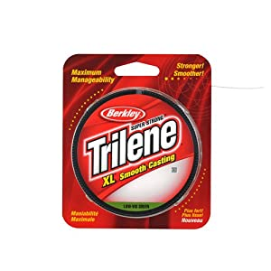Berkley Filler Spool Trilene XL Green 330 Yards 8 lb by Berkley