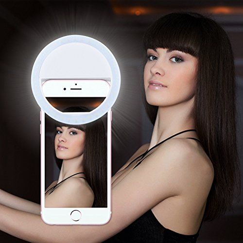 Selfie-Ring-Light-for-iPhone-6-plus6s65s54s4Samsung-Galaxy-S7-EdgeS7S6-edgeS6S5S4S3-Galaxy-Note-75432-Motorola-and-All-the-Smart-Phones-with-36-Self-LED-Lightning