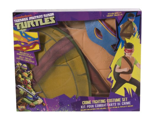 Teenage Mutant Ninja Turtles Crime Fighting Costume Box Set