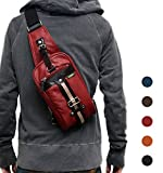 (Marib select) 斜めがけバッグ ボディバッグ 落ち着いたカラバリ ワンショルダーバッグ 鞄 目を引くツートンライン #b684